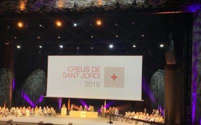 Convidats al lliurament de les Creus de Sant Jordi 2019