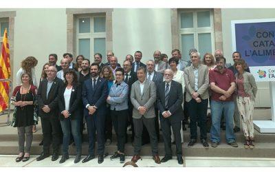 Convidats a l'acte de presentació del Consell Català d'Alimentació