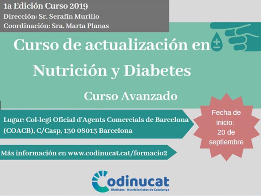 Finalitza el curs d'actualització en Nutrició i Diabetis