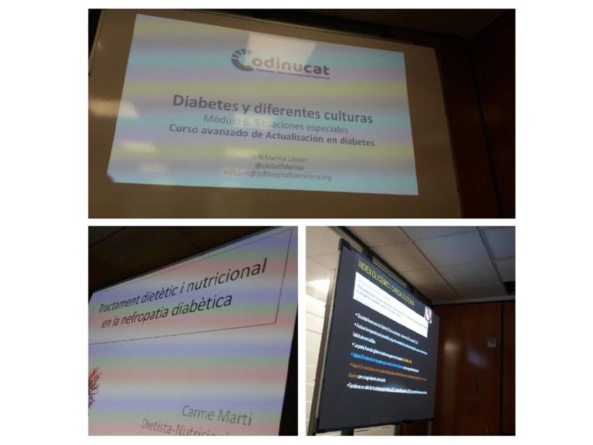 """Mòdul """"Situacions especials"""" del curs avançat d'actualització en Nutrició i Diabetis"""