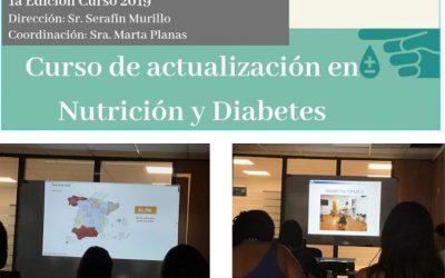 """Finalització del curs """"Actualització en Nutrició i Diabetis"""" (nivell bàsic)"""
