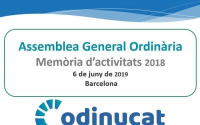 Assemblea General Ordinària del CoDiNuCat