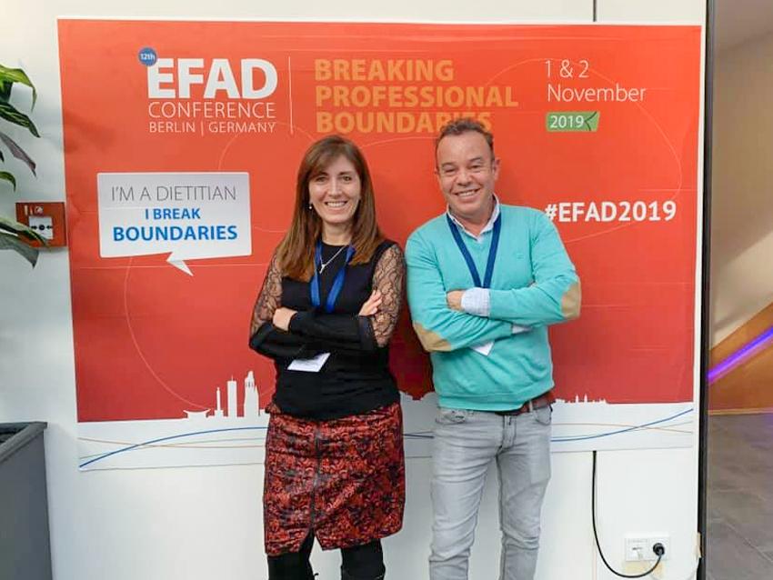 Representació del CoDiNuCat al Congrés de la EFAD