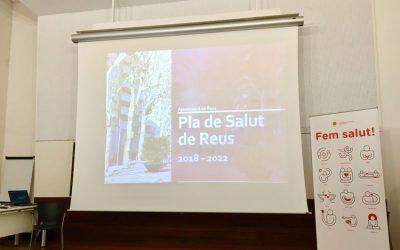 """Presentació del """"Pla de Salut de Reus 2018-2022"""""""