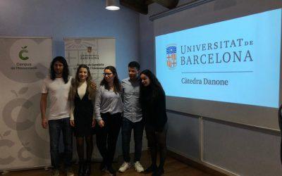 Jurat a la 5ena edició del premi Càtedra UB-DANONE