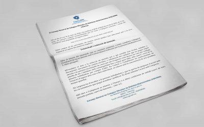 """Comunicat de les mesures extraordinàries """"coronavirus"""" del CGCODN"""