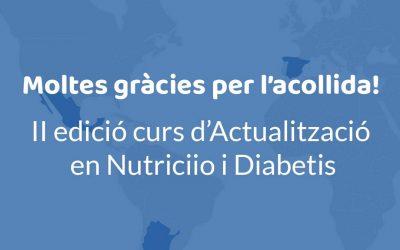 Inici Curs d'actualització en Nutrició i Diabetis