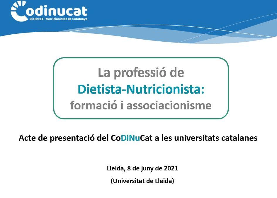 Presentacions a les Universitats