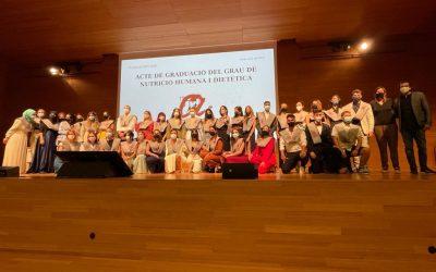 Acte d'entrega de les Orles als i les alumnes del GNHD de la URV