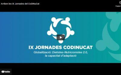Ja arriben les IX Jornades anuals del CoDiNuCat!